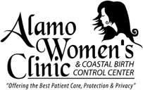 Alamo Women's Clinic - logo designed by J.David Lopez