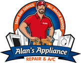 Alan's Appliance- logo designed by J.David Lopez
