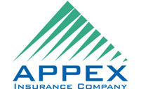 Appex Insurance - logo designed by J.David Lopez