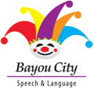 Bayou City Speech - logo designed by J.David Lopez