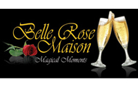Belle Rose Maison - logo designed by J.David Lopez