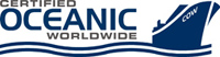 Certified Oceanic - logo designed by J.David Lopez