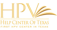 HPV Center Texas - logo designed by J.David Lopez