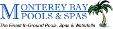 Monterey Bay Pools- logo designed by J.David Lopez