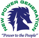 New Power Generation - logo designed by J.David Lopez