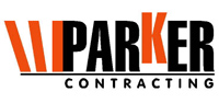 Parker Contracting - logo designed by J.David Lopez