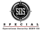 SOS Special Ops - logo designed by J.David Lopez