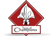 Taste of Champions - logo designed by J.David Lopez