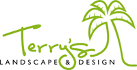 Terry's Landscape - logo designed by J.David Lopez