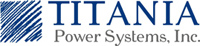 Titania Power Systems - logo designed by J.David Lopez