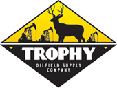 Trophy Oilfield - logo designed by J.David Lopez