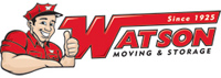 Watson Moving - logo designed by J.David Lopez