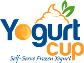 Yogurt Cup - logo designed by J.David Lopez